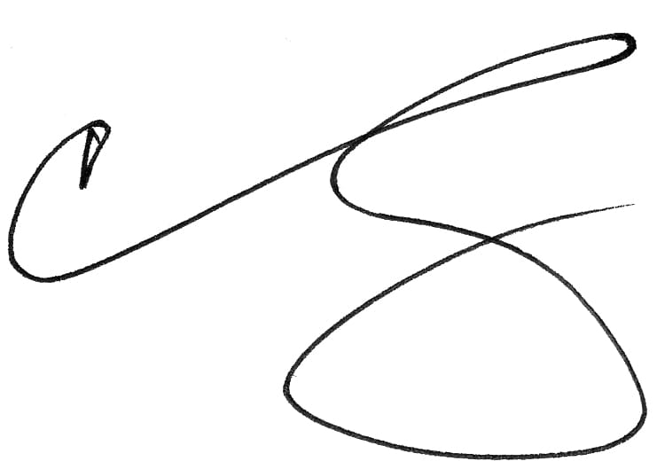 Chris Wing Signature
