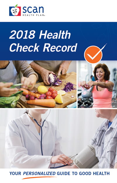 SCAN Club Issue 2 Health Check Record
