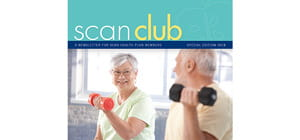 SCAN Club Special Edition 2018 Man woman lifting weights